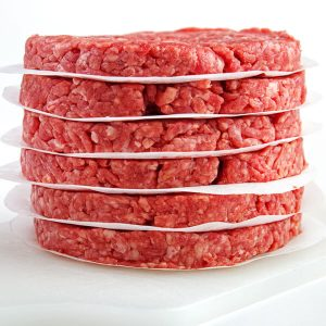 Ground Beef Grass Feed Patties 3d valley farms