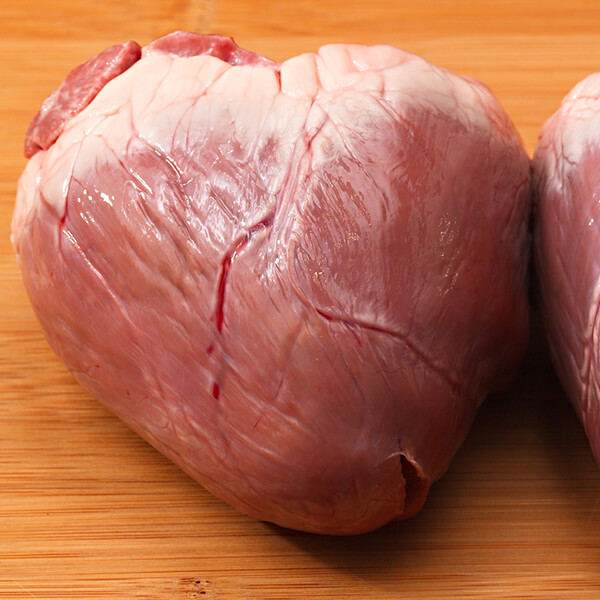 3d Valley Farms grass feed beef heart