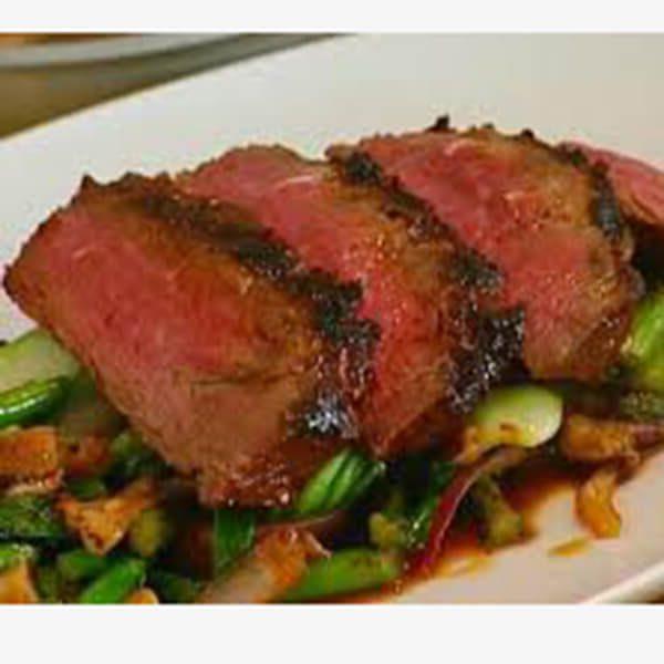 Flat iron steak 3d Valley farms